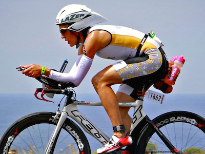 Claire Shea-Simonds Kona cycling