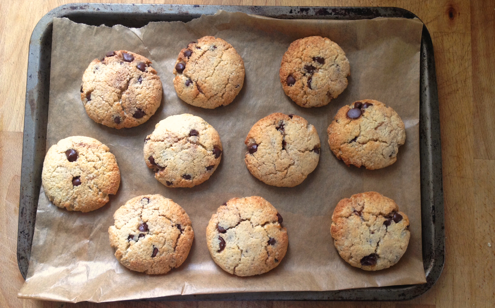 The end result almond healthy cookies